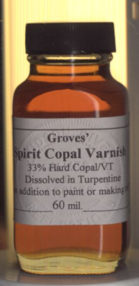 how to make copal varnish