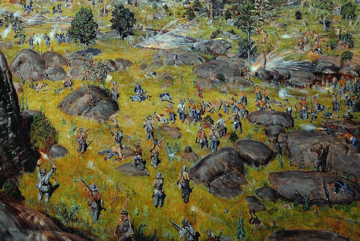 6 Sizes! Confederate Dead in Devils Den after Gettysburg New Civil War Photo